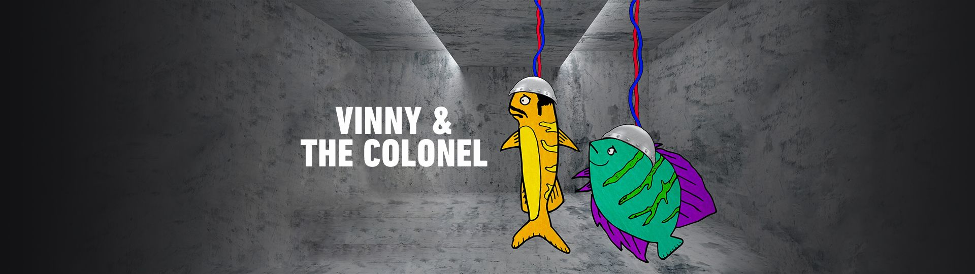 Vinny and The Colonel on FREECABLE TV