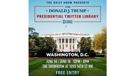 9e3c8d829 PRESS – The Daily Show Presents The Donald Trump Twitter Library ...
